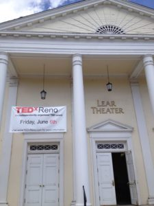 The historic Lear Theater will host TEDx Reno on June 6th